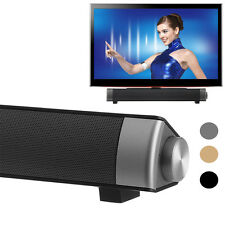 New TV Home Theater Soundbar Bluetooth Sound Bar Speaker System Subwoofer USB 1x