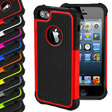 NEW Hard Back ShockProof Silicone Rubber Case Cover for iPhone 4/5/6 Plus V/1