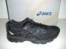 ASICS MENS GEL-KAYANO 23 RUNNING SNEAKERS-SHOES- T646N-9099- BLACK/ ONYX/ CARBON