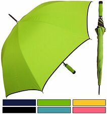 "Lot of 12 - 46"" Auto-Open Umbrella w/Foam Handle - RainStoppers Rain/Sun UV"