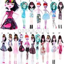 Fashion Dress Coat Pants Party/Casual Clothes Outfit for Monster High Dolls