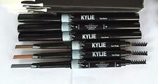 Kylie 2 IN1Waterproof defin Eyebrow Pencil  Skinny Brow  Double ended with brush