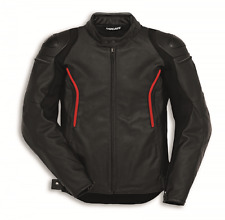 Ducati Dainese Leather jacket Stealth C2 Men's black motorcycle jacket new
