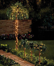 Lighted Palm Tree Outdoor Indoor Trees Lights Artificial Decor Light Party Tiki