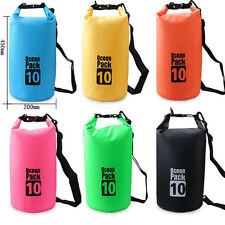 2-30L Waterproof Dry Bag Outdoor Pouch Sport Swimming Rafting Kayaking Sailing