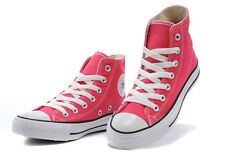 Converse All Star Hi Tops Womens High Tops Chuck Taylor Trainers Pink