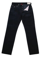 New $835 Brunello Cucinelli Navy Blue Solid Pants - Slim - (BC20310708216)