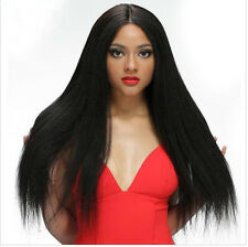 Remy Virgin Human Hair Wig 100% Baby Hair Lace Front /Full Lace Wig Straight Wig