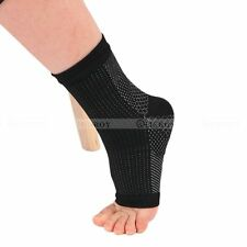1 Pair Soft Foot Compression Sleeve Circulation Ankle Swelling Pain Socks