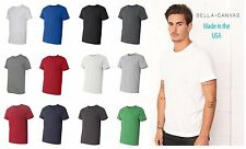 Bella + Canvas Unisex Jersey Short-Sleeve MADE IN USA T-Shirt XS-3XL  3001u