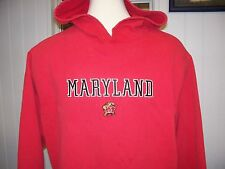 Maryland Terrapins NCAA Adult 2XL Stitched Hoodie Sweat Shirt