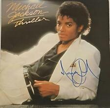 Michael Jackson Signed Thriller Album