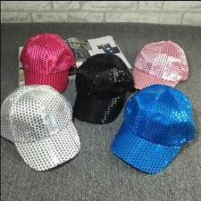 2017 Unisex Accessories Casual Hip Hop Design Hat Sport Sequined Disco Ball Cap