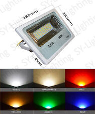 Outdoor Floodlight 30W SMD LED white warm red green blue IP66 Bright BULB LAMP