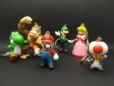 Quality 3D Super Mario Brothers Keychain Keyring Nintendo Collectable UK SELLER