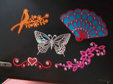 MANY ITEMS TO CHOOSE FROM!! BUTTERFLIES, BIRDS, DAISY FLOURISHES, FANS ETC