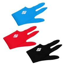 Spandex Billiard Glove Snooker Cue 3 Finger Left Hand Pool Glove Accessory