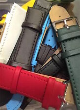 Brand New Assorted Genuine Leather And Calf Grain Watch Strap Job Lots