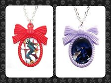 Kick Ass & Hit Girl Inspired Cameo Necklaces Mindy Dave comic superhero movie