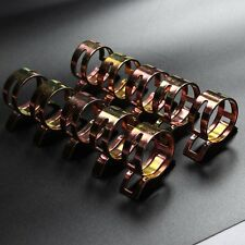 """40X Spring Clip 17mm 0.7"""" Vacuum Hose Clamp Fuel Oil Line Water Pipe Air Tube"""