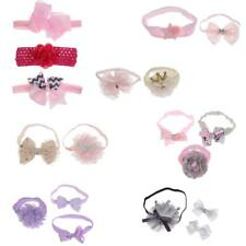 Lovely Infant Baby Girl Toddler Lace Flower Hairband Bow Hairband Cute Ornaments