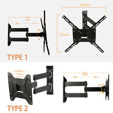 "14""-37"" / 23""-42"" LCD LED Plasma Swivel Tilt TV Wall Mount Bracket"