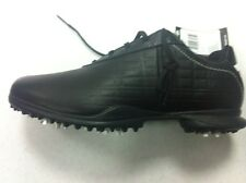 Adidas Driver May Z Ladies Soft Spiked Leather Golf Shoes 816449 BLACK