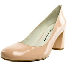 Bettye Muller Colette   Round Toe Patent Leather  Heels