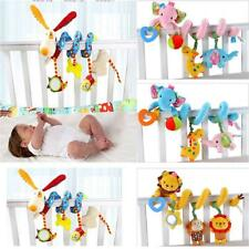 Newborn Baby Girls Multifunctional Bed Crib Pram Hanging Bell Plush Toy Gift