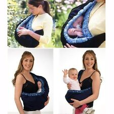 Newborn Adjustable Baby Carrier Sling Wrap Rider Backpack Cradle Pouch Ring New