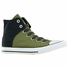 Converse Chuck Taylor Easy Hi Green Blak Youths Trainers