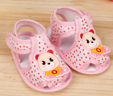 Baby Infant Girl Boy Crib Shoes Pink 0-6 6-12 12-18 Months