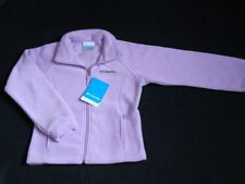 NWT Girls COLUMBIA June Lake Fleece Jacket Size 6 6X Lavender Spring Coat Fall