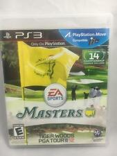 PS3 MASTERS Tiger Woods PGA Tour 12 Sony Playstation 3 Golf  Game Excellent