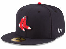 New Era Boston Red Sox 2017 ALTERNATE 59Fifty Fitted Hat (Navy) MLB Cap