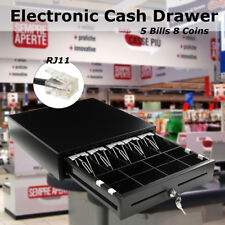 Electronic Cash Drawer Register POS 5 Bill 8 Coins Tray Heavy Duty AU STOCK NEW