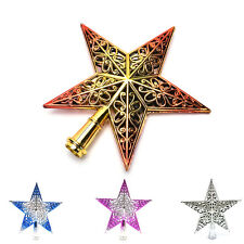 Christmas Tree Star Topper Ornament Party Decoration Xmas Decorations Star  JX