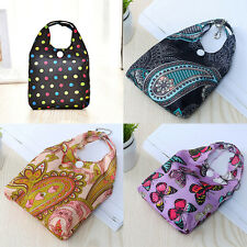 1x Folding Eco Shopping Travel Shoulder Grocery Bag Pouch Handbag Reusable Bags