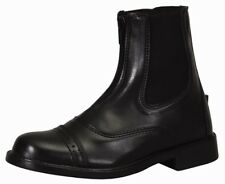 Tuffrider Starter Lite Zip Paddock Riding Boots Durable Synthetic Leather