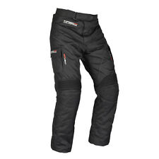 Oxford Wildfire 2.0 Black Textile Motorcycle Short Leg Mens Trouser All Sizes
