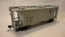 """HO SCALE ATLAS 2 BAY COVERED HOPPER """"C.N.J. # 766""""  JERSEY CENTRAL LINES"""