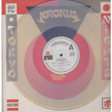 "KROKUS Tokyo Nights 12"" VINYL UK Ariola 1980 3 Track Full Extended Play Yellow"