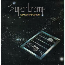 SUPERTRAMP Crime Of The Century LP VINYL UK A&M 1974 8 Track With Insert Matrix