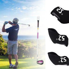 6 Pcs Neoprene Golf Club Iron Headcover  Head Covers For 48 - 60 Degrees US