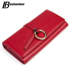 Leather Women Wallets Long Ladies Purse Coins Clutch Money Bag Hasp Bostanten