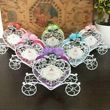 6Piece Carriage Metal Candy Chocolate Gift Box Party Birthday Wedding Decoration