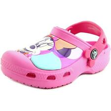 Crocs Minnie Colorblock Toddler  Round Toe Synthetic Pink Clogs