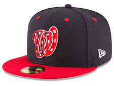New Era Washington Nationals 2017 ALT 4 59Fifty Fitted Hat (Navy/Red) MLB Cap
