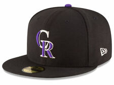 New Era Colorado Rockies 2017 GAME 59Fifty Fitted Hat (Black) MLB Cap