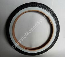 """Bicycle Whitewall Tyre 2.00/2.125 X 12"""" Inch for Raleigh RSW 16 Cycle 16x2.125"""